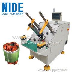 трехфазная статорная полуавтоматическая обмотка катушки и машина для вставки клина