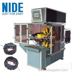 AUTOMOBILE ALTERNATOR STATOR WAVE WINDING MACHINE