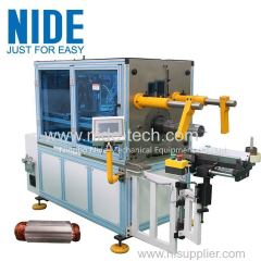 AUTOMATIC HORIZONTAL STATOR COIL INSERTING MACHINE