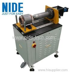 Stator coil wedge expanding machine