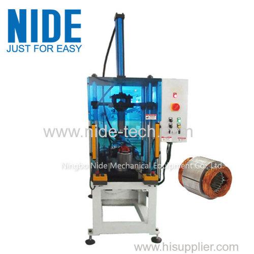 автоматический настольный вентилятор обмотки статора расширение машины / формируя машину