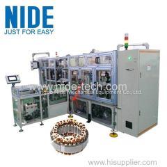 Высокая эффективность полностью автоматический четыре рабочие станции шнуровка машина катушки статора