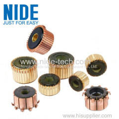 COPPER SEGMENT TYPE COMMUTATOR