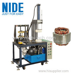 Economic Type Automatic Stator Winding Final Forming Coil Shaping Machine