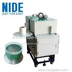 Economic type induction motor stator wedge preparing machine