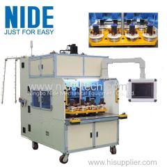 Automatic generator motor stator coil winding machine
