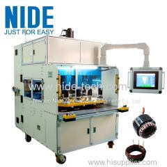 Eight working station Four winding head coil winding machine