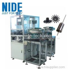 AUTO PLASTIC END COVER END PLATED PRESSING MACHINE