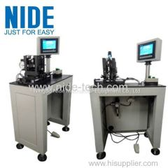 AUTO POSITIONING ARMATURE ROTOR BALANCING MACHINE