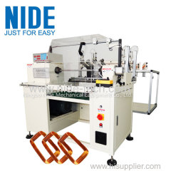 NIDE Full-automatic transformers stator coil winding machine for multiple wire parallel coil winding