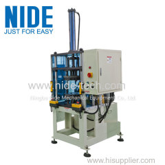 Nide full-automatic petite stator machine de formage final