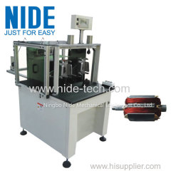 FULLY AUTOMATIC ALTERNATOR MOTOR ARMATURE WINDING MACHINE