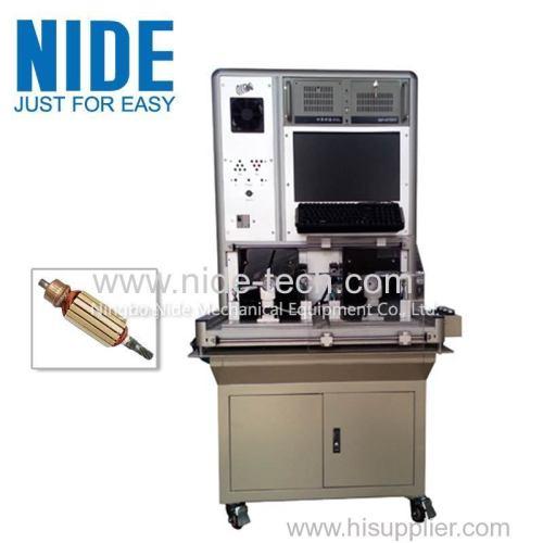 Automatic Power Tool Motor Armature Testing Machine