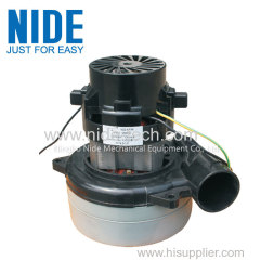Wet and dry motor for vacuum cleaner