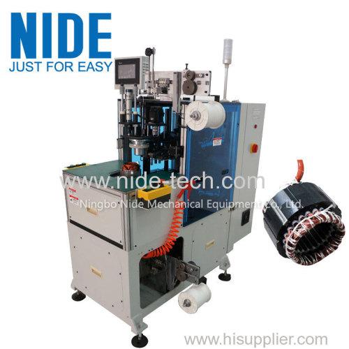 компрессионный электродвигатель конца автоматической катушки статора шнуровка машина