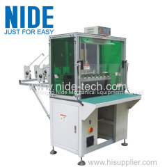 Multiple-head Winding Machine Eight Station Coiling Winding Machine Suitable for 0.08~0.8mm Wire Diameter