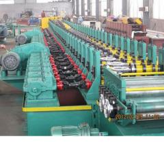 Roller shutter door frame roll forming machine manufacturer China