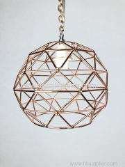 Iron Art Geometric Lamp