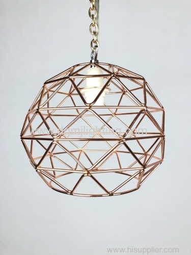 Bertie Copper Non Electric Pendant