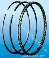 Piston rings for automobile car engine