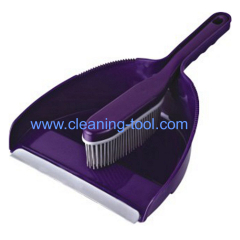Rubber Brush and Dustpan Set