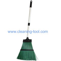 Garden Broom Hard Bristled Brush Collector With Extendable Handle