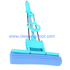 Absorbent magic PVA mop with telescopic aluminum handle 120cm
