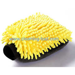 Waterproof Car Wash Mitt Microfiber Glove