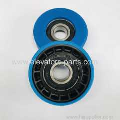 Schindler Escalator Lift Parts Step pulley Chain Roller 76x25mm 6204-RS (Polyurethane Skeleton)