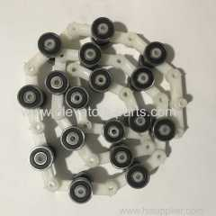 Escalator Schindler Spare Parts Single Fork Rotary Chain 17 Joints