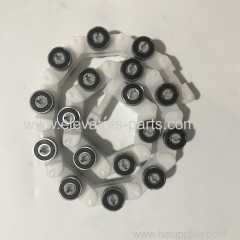 Kone Escalator Lift Spare Parts White Plastic Rotary Chain