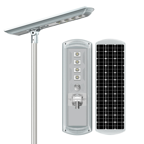 Led All In One Outdoor Integrated Panel Power Smart Lamps High Lumens Ip65 Powered Lights Flood Energy Lamp Solar Street