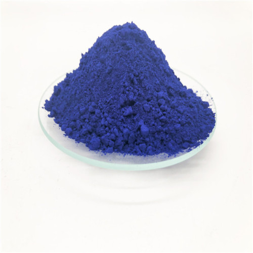 definition cobalt blue concrete pigment Iron oxide pigment science