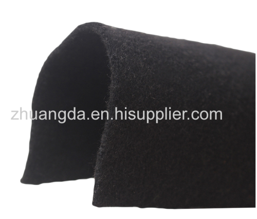 high-quality wool felt using in purifying and filtering dust