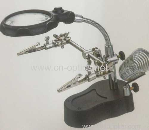 AUILIARY CLIP MAGNIFIER WITH LED ILLUMINATION