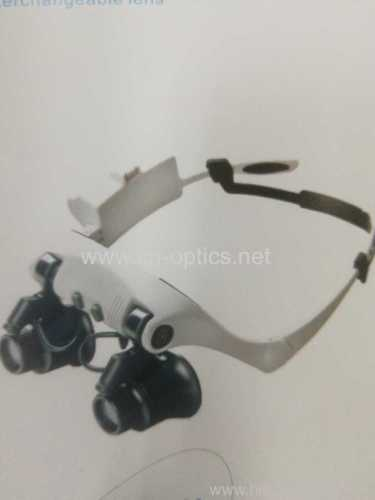 GLASSES WATCH REPAIR MAGNIFIER WITH LED LAMP
