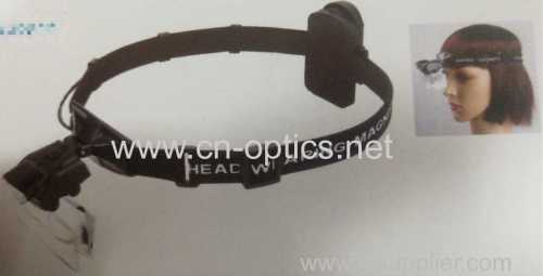 GLASSES MAGNIFIER WITH LED LIGHT