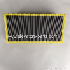 Hitachi Escalator Step Wrong Tooth Fluorescent Yellow