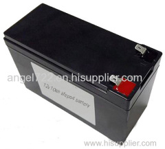 how to replace 12v 7ah battery SLA to lifepo4 rechargeable battery