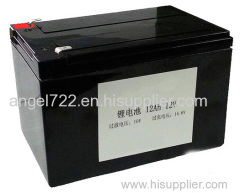 how to replace 12v 12AH battery AGM to lifepo4 battery lithium ion battery