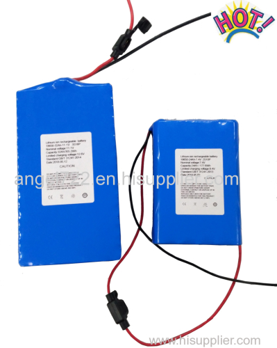 7S 25.9v 2.9ah li ion battery pack 24v lithium ion battery with import 18650 cells work with 6A current