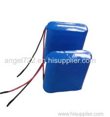 11.1V2500mAh medical use sanyo 18650 battery pack