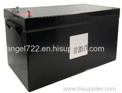 how to replace 12v 100ah battery SLA to lifepo4 battery lithium battery