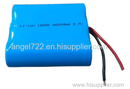 11.1V2000mAh emergency light use lithium battery