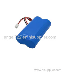 3.7V3400mAh 553768 polymer 1S2P lithium battery pack