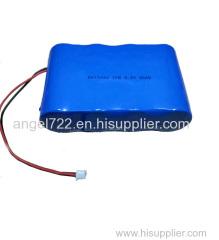21.6V1.5Ah cleaner battery lithium high power 18650 cell