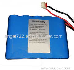 24v 2200mah battery packs 18650 7s1p 25.9v li-ion rechargeable 24v dc battery pack work with 10A current