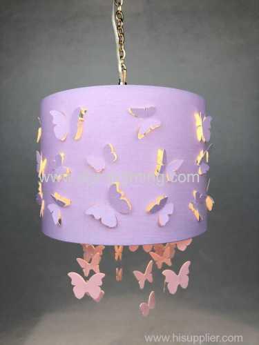 Laser Cut Butterflies Pendant for Girls