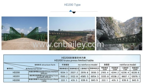 China manufacturer hot sale sea-crossing temporary bridge