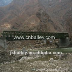 emergency bridge portable steel bridge